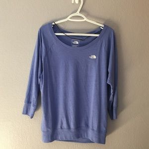 Blue North Face T-shirt